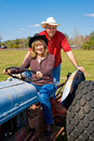 Mature Couple on Farm Royalty Free Stock Photo