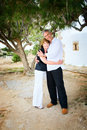 Mature couple in love Royalty Free Stock Photo
