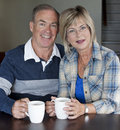 Mature couple together Royalty Free Stock Images