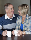 Mature couple together Royalty Free Stock Photography