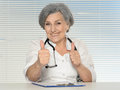 Mature female doctor Royalty Free Stock Photo
