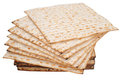 Matza  for passover celebration Royalty Free Stock Image