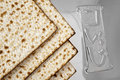 Matza  for passover celebration Royalty Free Stock Photo