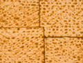 Matzah background a traditional jewish bread for passover Royalty Free Stock Photos