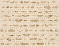 Matzah Seamless Pattern Stock Photo