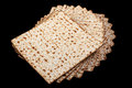 Matzot traditional israel passover food Royalty Free Stock Photography