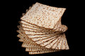 Matzot traditional israel passover food Royalty Free Stock Photo