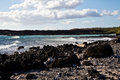 Maui s la perouse view the rocky coastline surrounding bay Stock Image