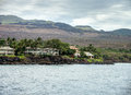 Maui Waterfront Home Royalty Free Stock Photo