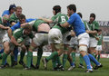 Maul,Ireland V Italy,6 Nations Rugby Stock Images