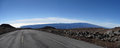 Mauna loa a view of from kea Royalty Free Stock Image