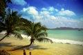 Mauritius beach Fotografering för Bildbyråer
