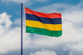 Mauritius flag Royalty Free Stock Photo