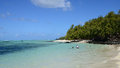 Mauritius picturesque ile aux cerfs in mahebourg area the Royalty Free Stock Image