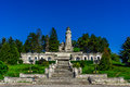Mausoleul eroilor the mausoleum of mateias in romania Stock Photography