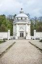 Mausoleum of The Andrassy family near castle Krasna Horka Royalty Free Stock Photo
