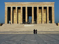 Mausoleum of Ataturk in Ankara Turkey Royalty Free Stock Photography