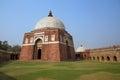 Mausoleum of ghiyath al din tughluq tughlaqabad fort delhi in new india Stock Images