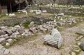 Mausoleum at Halicarnassus Royalty Free Stock Photo