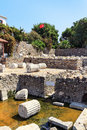 Mausoleum of Halicarnassus Royalty Free Stock Photo