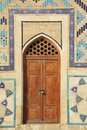 Mausoleum of Khoja Ahmed Yasavi in Turkistan, Kazakhstan. Royalty Free Stock Photo