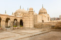 Mausoleum of mohamed ali family city of deads cairo egypt tombs mamelukes dead historic unesco world heritage list domes the tombs Stock Photography