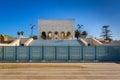 Mausoleum Mohamed V. in Rabat, Morocco Royalty Free Stock Photo