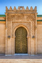 Mausoleum Mohamed V. in Rabat, Morocco Royalty Free Stock Photo