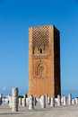 Mausoleum of Mohammed V in Rabat, Morocco. Listed in the Unesco World Heritage places. Royalty Free Stock Photo