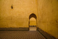 Mausoleum of Moulay Ismail in Meknes, Morocco. Royalty Free Stock Photo
