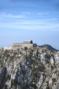 Mausoleum of petar petrovic njegosh on lovcen mountain montenegro Stock Photography