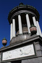 Mausoleum in recoleta cemetery buenos aires argentina december tomb of nobel prize chemistry laureate luis federico leloir Royalty Free Stock Photo