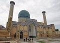 Mausoleum samarkand uzbekistan may tomb gur e amir on may in asia Stock Photos