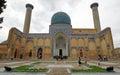 Mausoleum samarkand uzbekistan may tomb gur e amir on may in asia Royalty Free Stock Image