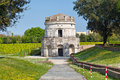 Mausoleum of Theoderic in Ravenna Royalty Free Stock Photo
