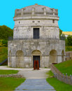 Mausoleum of Theodoric in Ravenna, Italy Royalty Free Stock Photo