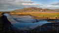 Mawddach Estuary in Barmouth, Wales, UK Royalty Free Stock Photo