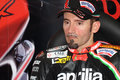 Max Biaggi Aprilia RSV4 Aprilia Racing Team Royalty Free Stock Image