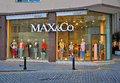 Max co store in malta sliema march flagship sliema town on march maxmara is a luxury italian fashion house known for its ready to Stock Photos