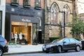 Max Mara, Newbury Street, Boston, MA. Royalty Free Stock Photo