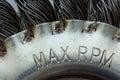 Max rpm Royalty Free Stock Photo