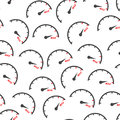 Max speed seamless pattern background icon