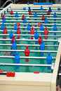 Maxi table foosball football game also known as Royalty Free Stock Image