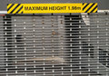 Maximum height sign Royalty Free Stock Image