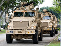 Maxxpro MRAP Royalty Free Stock Photography