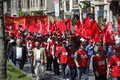 May Day in Istanbul Stock Photography