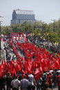 May Day in Istanbul Royalty Free Stock Photos
