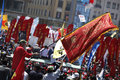 May Day in Istanbul Royalty Free Stock Photography