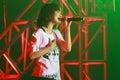 May'n ASIA TOUR 2011 UNITE!! Royalty Free Stock Photo