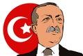 06. May 2017.Portrait of the President of Turkey Recep Tayyip Erdogan Royalty Free Stock Photo